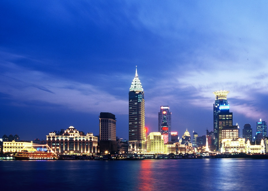 上海外灘中山路沿街立面改造