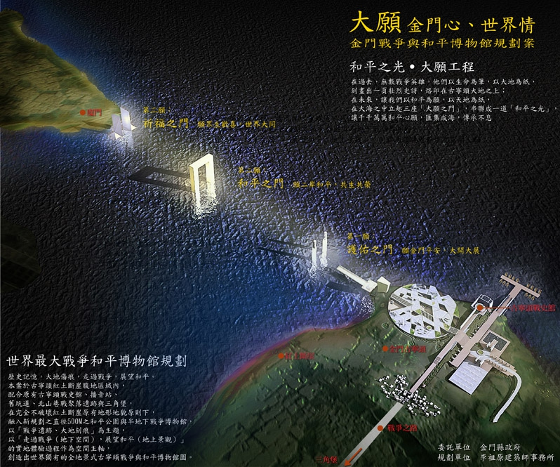 Kinmen War & Peace Museum Planning Proposal